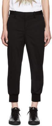 Neil Barrett Black Jogger Trousers
