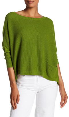 Eileen Fisher Boxy Dolman Pullover $218 thestylecure.com