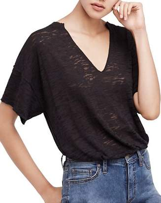 Free People Maddie Burnout Tee