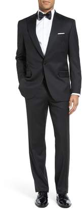David Donahue Russell Classic Fit Loro Piana Wool Tuxedo