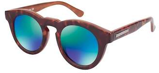 Vince Camuto Women's Round 46mm Acetate Frame Sunglasses