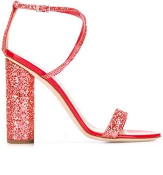 Giuseppe Zanotti Design glitter detail sandals