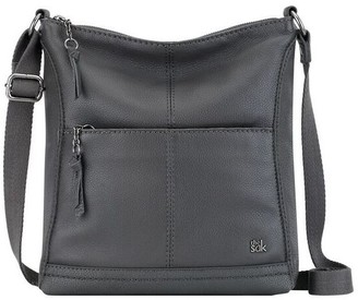 At Qvc The Sak Leather Crossbody Lucia