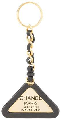 Chanel Pre-Owned logo chain key holder