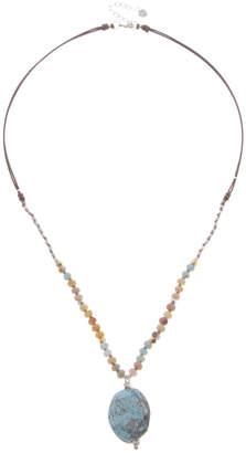 Nakamol CHICAGO Amazonite mix necklace