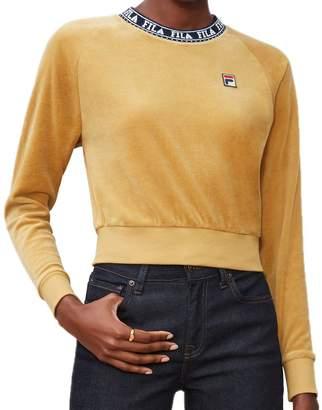 Fila Women's Dina Velour Crew Sweatshirt