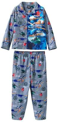 Disney Planes Boys 'Turn Up the Heat' Coat Style Pajama Set, Toddler