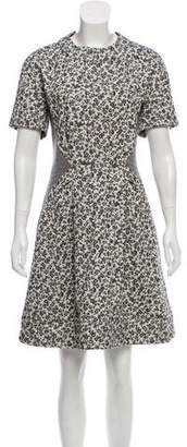 Thakoon Short Sleeve Flared Dress w/ Tags