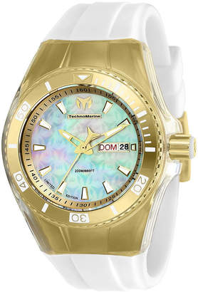 Invicta Cruise Womens White Strap Watch-Tm-115324