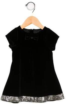 Billieblush Girls' Sequined Velvet Dress w/ Tags