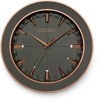 Citizen Leather Gallery Wall Clock