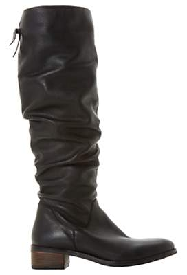 711559f38498 Dune Tabatha Knee High Slouch Boots