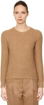 65de7a1f82 Max Mara Wool   Camel Blend Knit Sweater