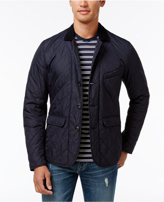 Barbour Men's Diamond-Quilted Jacket $279 thestylecure.com