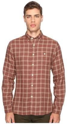 Todd Snyder Linen Windowpane Shirt Men's Clothing