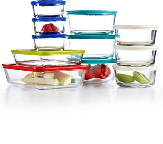 Pyrex 22 Piece Food Storage Container Set, Only at Macy's