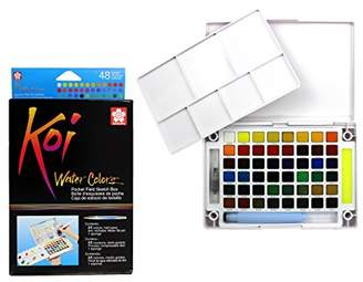 Sakura XNCW-48N Koi Watercolor Field 48 Color Sketch Set