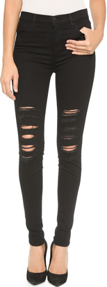 J Brand 23110 High Rise Photo Ready Maria Jeans $198 thestylecure.com
