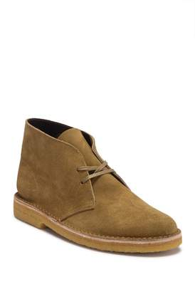 Clarks Desert Suede Lace-Up Boot