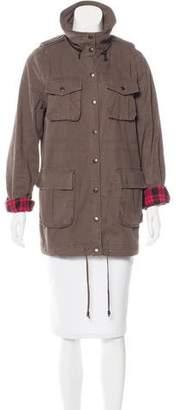 Alice + Olivia Long Sleeve Parka Jacket