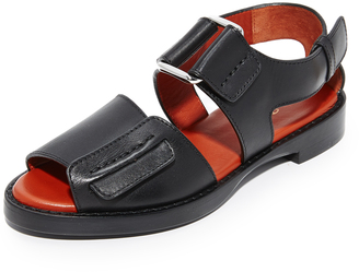 3.1 Phillip Lim Addis Flat Sandals $550 thestylecure.com