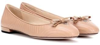 Prada Leather ballerina shoes