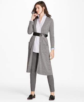 Brooks Brothers Cashmere Duster Cardigan