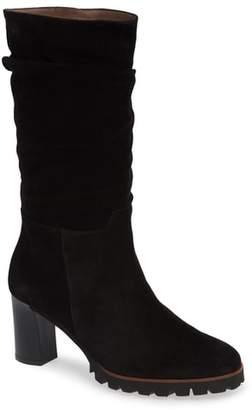 Wonders Slouchy Block Heel Boot