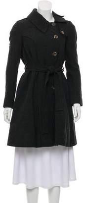 AllSaints Wool Knee-Length Coat