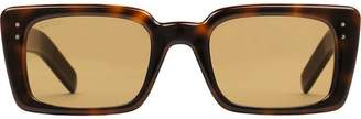 rectangular frame sunglasses