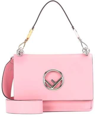 Fendi Exclusive to Mytheresa.com – Kan I F leather shoulder bag