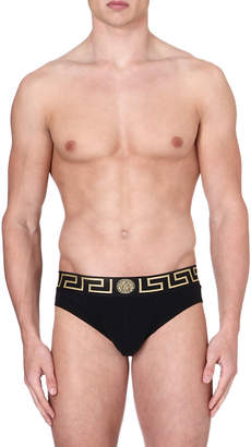 Versace Iconic low-rise briefs pack of two