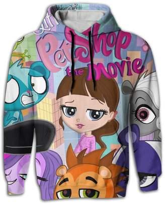 Littlest Pet Shop SATANPP Unisex Sweater Shirt Sublimated 3D Full Sweater With Pocket