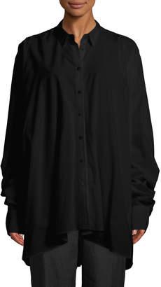 Urban Zen Long-Sleeve Lantern Shirt