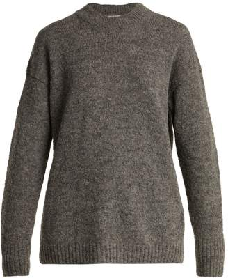 Tibi Dropped-sleeve wool-blend sweater