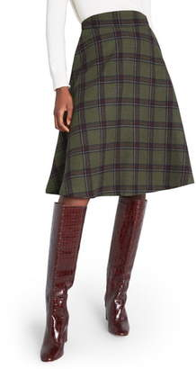 ModCloth Prim Class Hero Plaid Skirt
