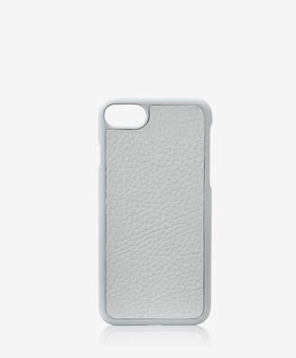 GiGi New York iPhone 7 Hard-Shell Case, Grey Pebble Grain