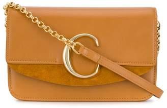 Chloé C double crossbody bag
