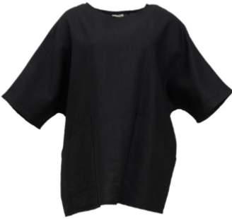 Shio Poketto Tunic - Black - S/M - Black