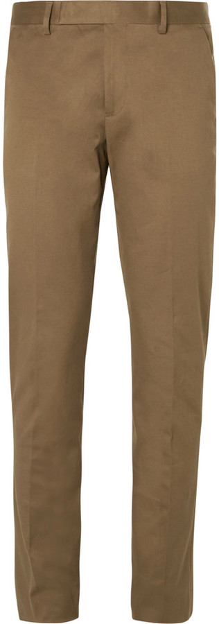 Paul Smith Paul Smith Slim-Fit Stretch-Cotton Twill Chinos