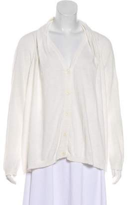 Chalayan Button-Up Knit Cardigan