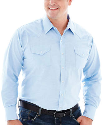 Ely Cattleman Long-Sleeve Western Shirt-Big & Tall