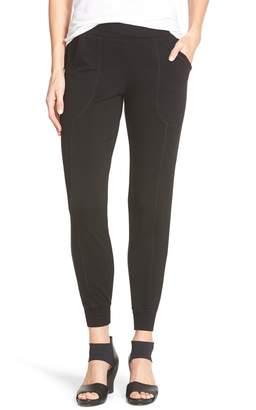 Eileen Fisher Slouchy Fleece Knit Pants