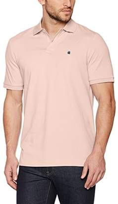 G Star Men's Dunda Polo T S/S Shirt, (White 110), S