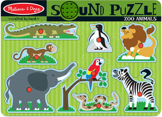 Melissa & Doug Kids Toy, Zoo Animals Sound Puzzle