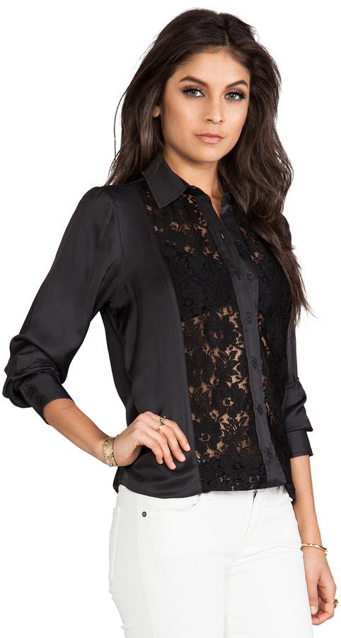 Smythe Lace Panel Shirt