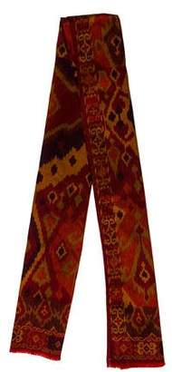Etro Printed Long Scarf