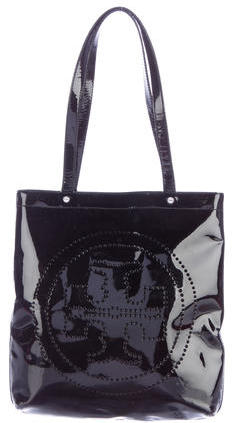 Tory BurchTory Burch Perforated Patent Leather Tote