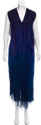 Donna Karan Silk Evening Dress