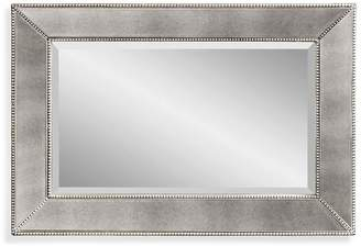 Pottery Barn Beveled Glass Beaded Rectangular Mirror - Small